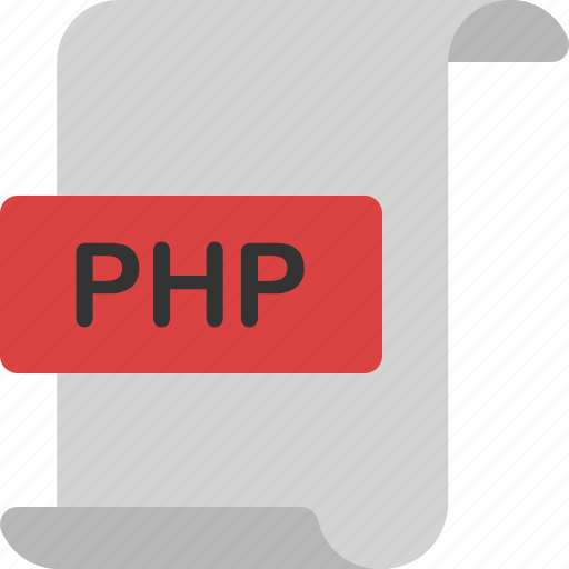 code, document, extension, file, format, page, php icon