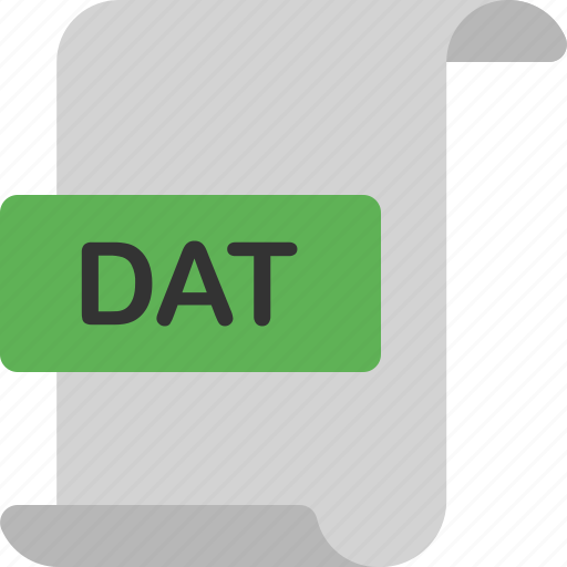 dat, document, extension, file, format, page icon