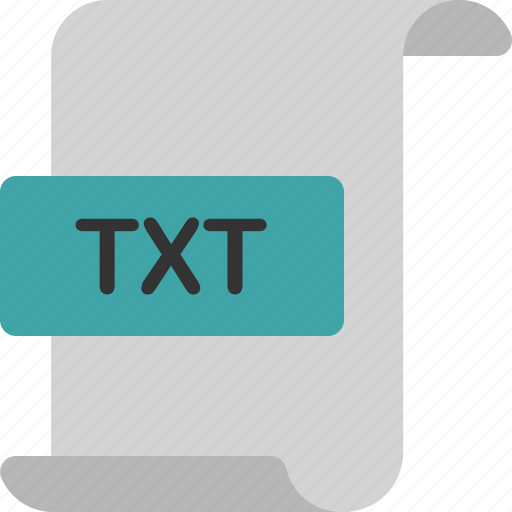 document, extension, file, format, page, text, txt icon