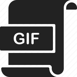 document, extension, file, format, gif, image, page icon