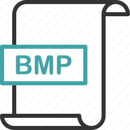 bmp, document, extension, file, format, image, page icon