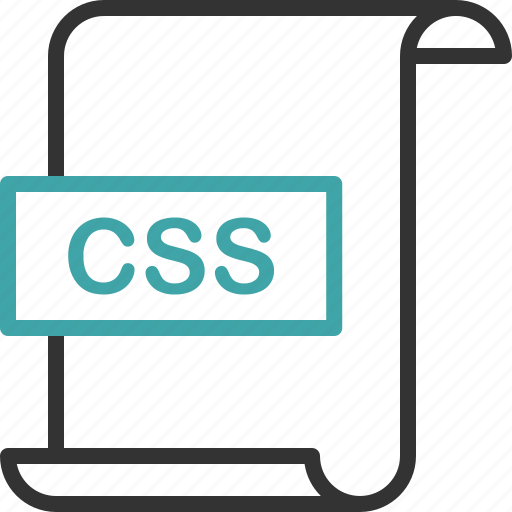code, css, document, extension, file, format, page icon
