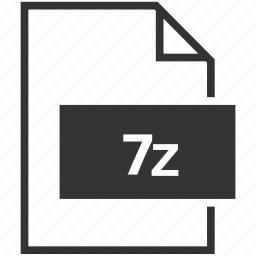 extension, file format, z7 icon