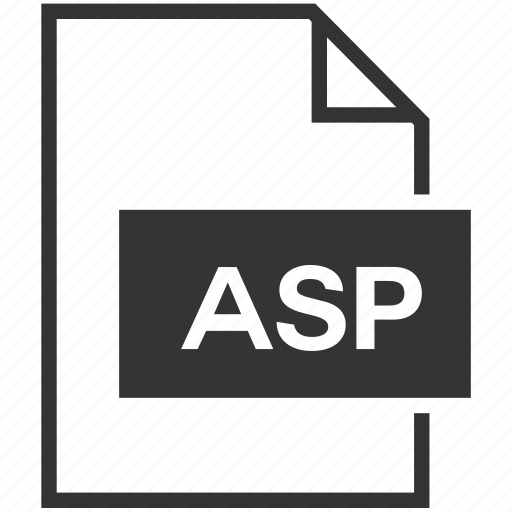 asp, extension, file format icon