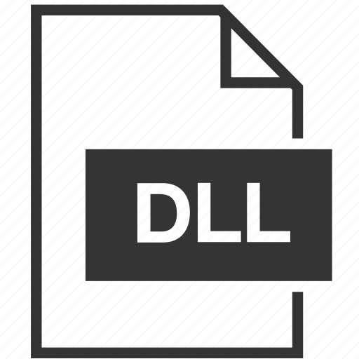 dll, extension, file format icon