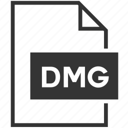 dmg, file, file format icon