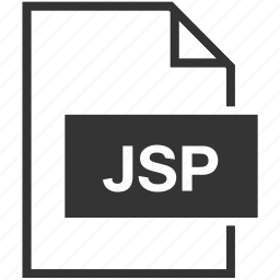 extension, file format, jsp icon