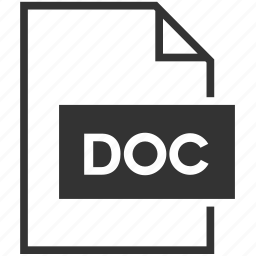 data, doc, document, extension, file format, text icon