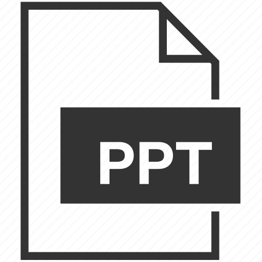 extension, file format, ppt icon