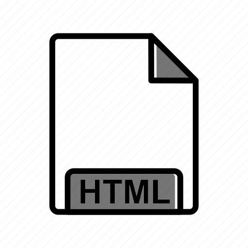 extension, fie type, html icon