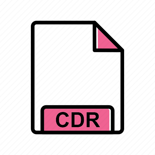 cdr, fie type, file icon