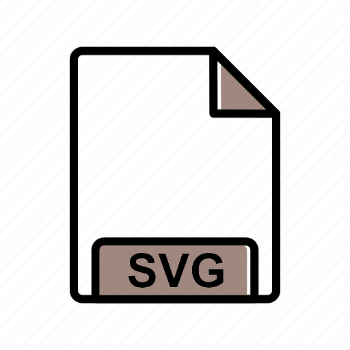 extension, fie type, svg icon