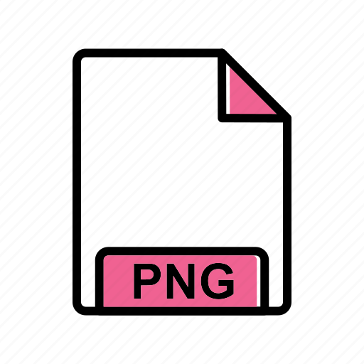 extension, file, png icon