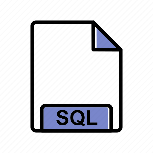 extension, fie type, sql icon