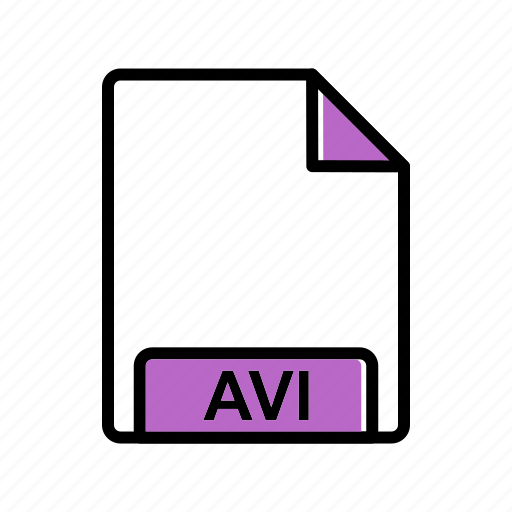 avi, extension, file icon