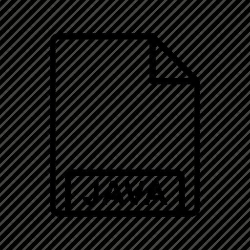 file, file format, java icon