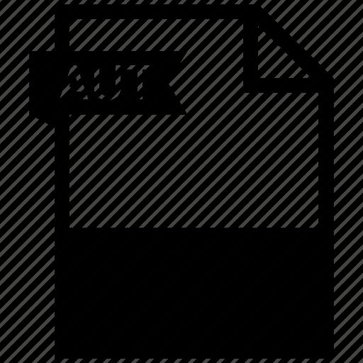 aut, document, extension, folder, paper icon