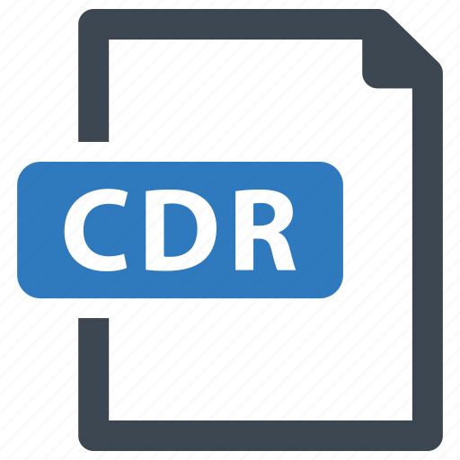 cdr, file, format icon