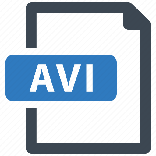avi, file, format, video icon
