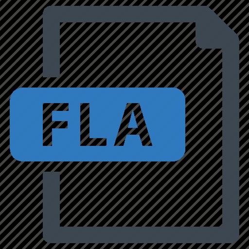 File, fla, format icon - Download on Iconfinder