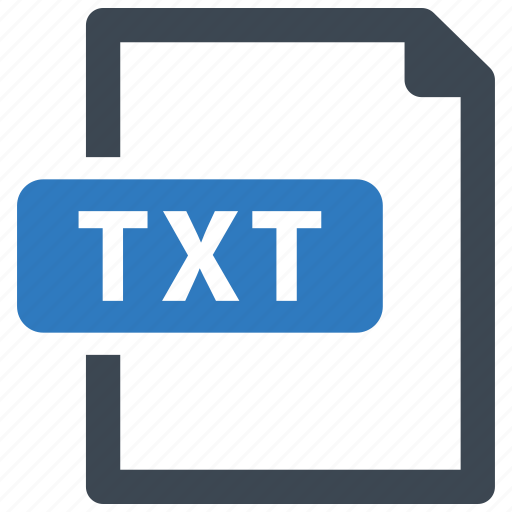 File, txt, format icon - Download on Iconfinder