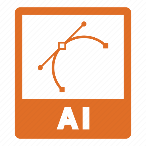 ai file, document, documents, file, format icon