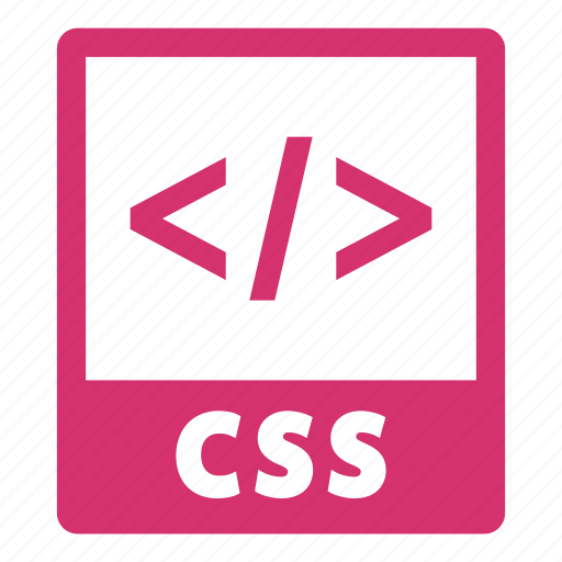 css, css file, document, extension, file, format icon