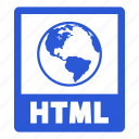 document, file, html, extension, format, html file