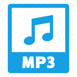 document, extension, file, format, mp3, mp3 file icon