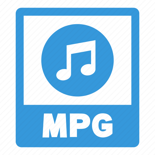 document, extension, file, format, mpg, mpg file icon