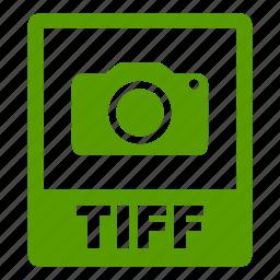 document, extension, file, format, tiff, tiff file icon