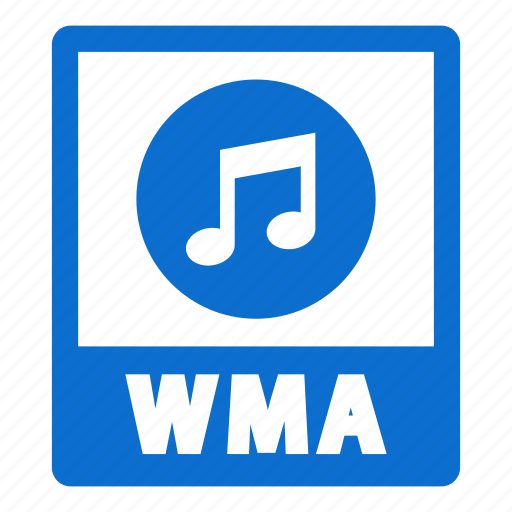document, extension, file, format, wma, wma file icon
