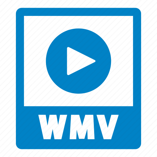 document, extension, file, format, wmv, wmv file icon