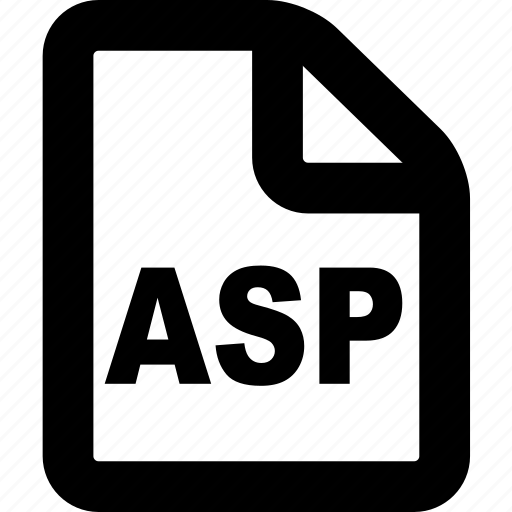 asp, asp file, asp format, file, format icon
