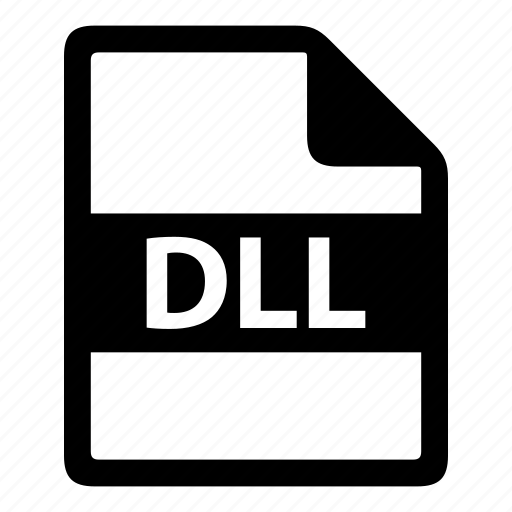 dll, file, file extension, file format, file type, type of file icon