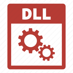 dll, dll file, document, extension, file, format icon