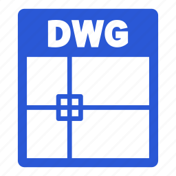 document, dwg, dwg file, extension, file, format icon
