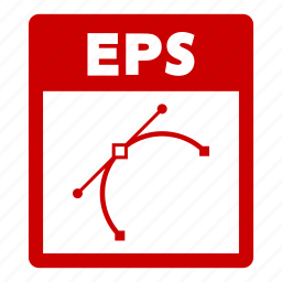 document, eps, eps file, extension, file, format icon