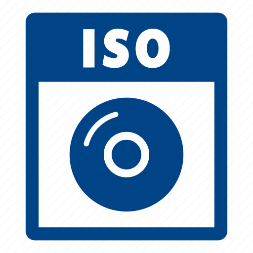 document, extension, file, format, iso, iso file icon
