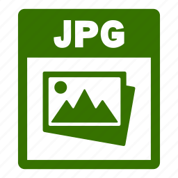 document, extension, file, format, jpg, jpg file icon