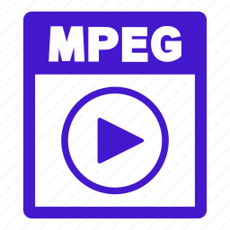 document, extension, file, format, mpeg, mpeg file icon