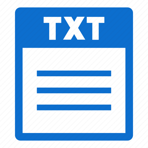 Document, file, txt, extension, format, txt file icon - Download on Iconfinder