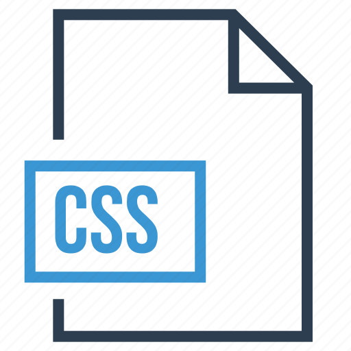 css, css file, css file type, css format, file icon