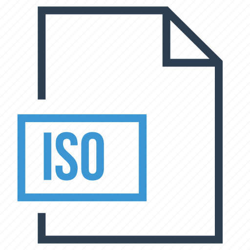 file, iso, iso file, iso format icon