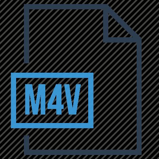 file, m4v, m4v extension, m4v file icon