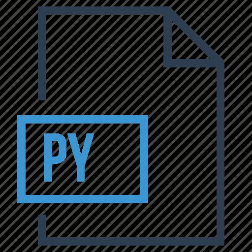 file, py, py extension, py file icon