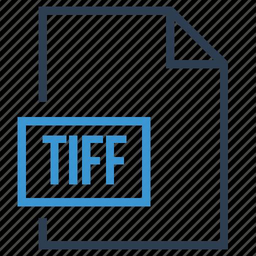 file, image type, tiff, tiff file icon
