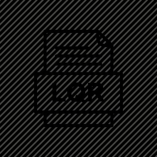 Lqr, file, format icon - Download on Iconfinder