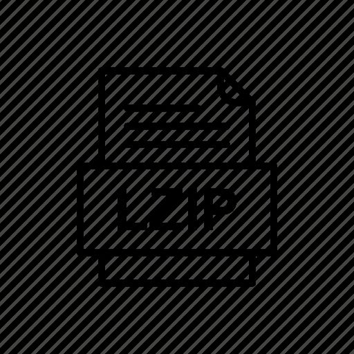 Lzip, file, format icon - Download on Iconfinder