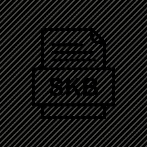 Skb, file, format icon - Download on Iconfinder